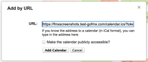 Google Calendar Add Link
